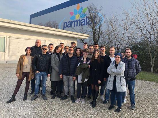 Visita in Parmalat